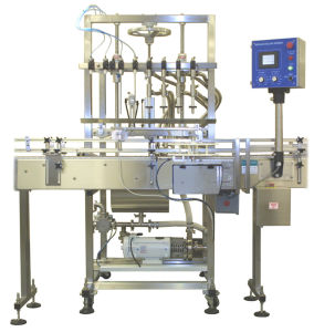 Filling Machine Automatic Liquid for Bottles Cans Bags pictures & photos