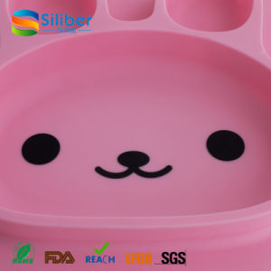 High Quality Cute Rabbit Shape Baby Placemat for Sale pictures & photos