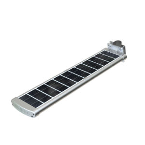 Hot Sale All in One Outdoor LED Solar Street Light Motion Sensor Home Light with Pole Road Light Price List China pictures & photos