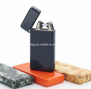 USB Recharging Electronic Dual Pulse Arc Cigarette Lighter pictures & photos