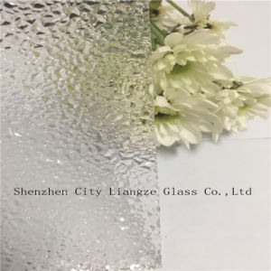 3mm-8mm Patterned Glass /Rolled Glass/Float Glass with Polka-DOT for Decoration pictures & photos
