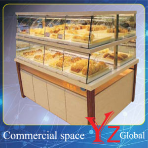 Cake Display Cabinet (YZ161006) Kitchen Cabinet Wood Cabinet Baking Cabinet Cake Showcase Pastry Showcase Bread Display Cabinet Bakery Display Cabinet pictures & photos