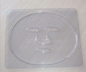 OEM Clear Plastic Blister Tray for Cosmetic Mask pictures & photos