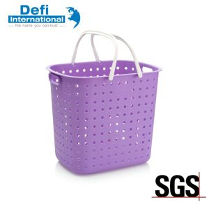 Plastic Laundry Basket for Bathroom pictures & photos