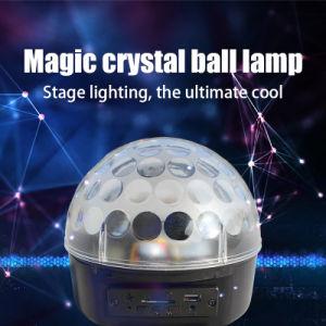 6*1W Mini RGB LED Magic Ball Lighting DJ Disco Light pictures & photos