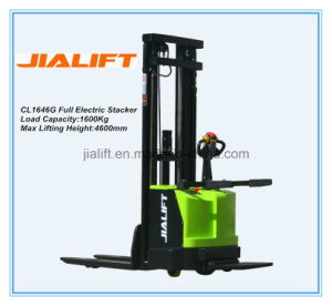 Electric Stacker Cl1646G pictures & photos