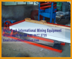 Gold and Tin Recovery Gravity Concentrator Shaking Table pictures & photos