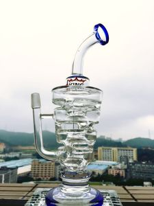 Wholesale 13inch 5mmthickness Recylce Glass Smoking Water Pipe pictures & photos