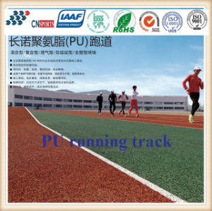 Athletic Track /Outdoor Full Polyurethane Running Track/Sport Track with SBR Granules pictures & photos