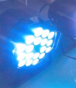 High Power 18X10W 6in1 Indoor LED PAR Stage PAR64 pictures & photos