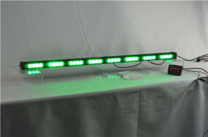 IP66 32W LED Traffic Advisor Lights Green Directional Light Bar pictures & photos
