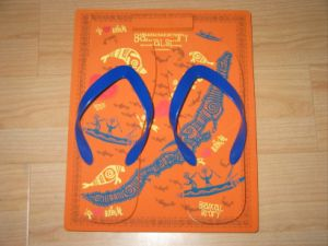 Board Sandals & Slippers Flip Flop Sandals Promotional Sandals pictures & photos