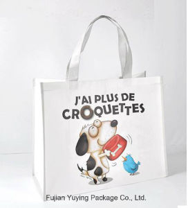 Laminating Non Woven Shopping Tote Bag with Customized Printing pictures & photos