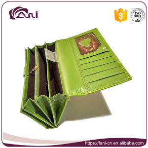 New Design Leaf Embossed Printed PU Wallets for Ladies pictures & photos