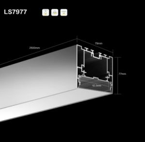 Ls 7977. LED Linear Light Profile for LED Strip Light pictures & photos