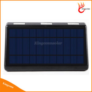 60LED Outdoor Solar Security Wall Lamp Solar Powered Motion Sensor Light pictures & photos