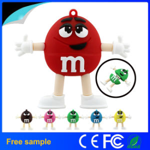 High Quality Chocolate Beans USB 2.0 Flash Disk pictures & photos