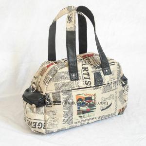 Sateen Foaming Shoulder Waterproof Duffel Travel Bag pictures & photos