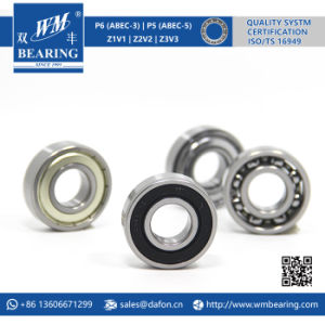 6203 2RS Low Friction Sealed Deep Groove Ball Bearing pictures & photos