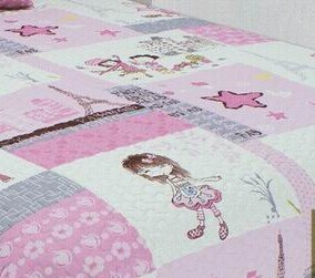 Printed 100% Cotton or Polyester Children Quilt Set (beddding set) pictures & photos