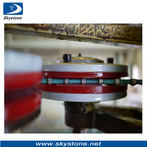 Diamond Wire Saw for Cutting Grantie and Marble in Factory pictures & photos