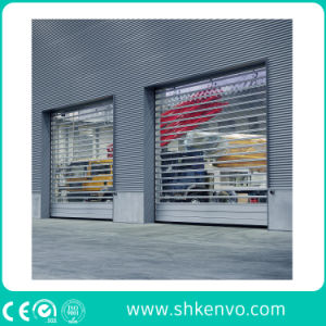 Aluminum Alloy Insulated Metal Rapid Rolling Shutter Doors for Industrial Warehouse pictures & photos