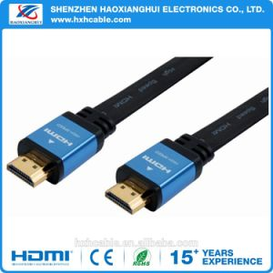 High Quality/High Speed 1.4V Gold Planted HDMI Cable pictures & photos