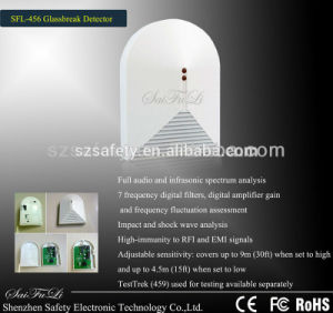 Home Burglar Security Wired Glass Break Detector (SFL-456) pictures & photos