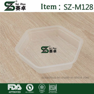 Disposable Packing Soup Bowl Thicken Plastic Double Layer with Airtight Cover pictures & photos
