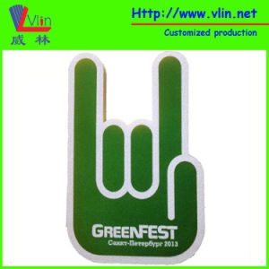 Two Fingers Foam Hand with Greenfest Logo pictures & photos