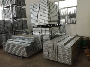 Formwork Scaffolding System Steel Planks/Steel Board/Plank /Metal Deck with Hooks pictures & photos