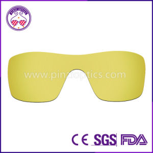 Polarized Sunglasses Goggle Lenses in Us and EU Standard pictures & photos