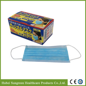 Surgical Disposable Non-Woven Face Mask with Ear Loop pictures & photos