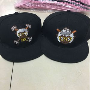 High Quality Hiphop Cotton Customized Snapback Cap