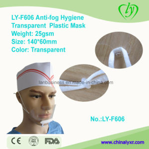 Ly-F606 Anti-Fog Hygiene Transparent Plastic Clear Mask pictures & photos