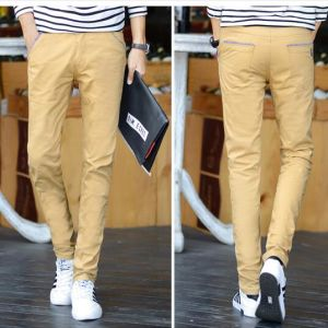 Cotton Spandex Twill Men′s Casual Trouser pictures & photos