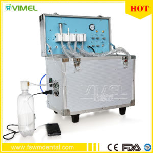 Dental Portable Turbine Unit Suction Work+Air Compressor+3 Way Syringe Ce pictures & photos