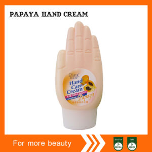 Hand Shape Papaya Hand Cream pictures & photos