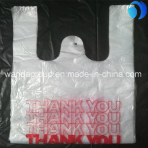 PE High Quality Plastics Bags/T-Shirt Bag/Shopping Bags for Sale/Shopping pictures & photos