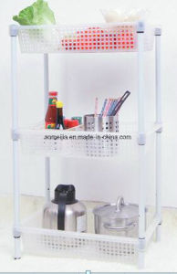 Hot Sale Metal Chrome Wire Flowers Shelf for Kazakhstan pictures & photos