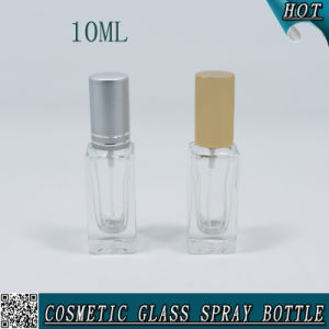 10ml Rectangle Clear Empty Glass Spray Bottle for Perfume 10ml pictures & photos