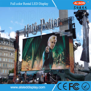 Ultra Slim P3.91 Outdoor Rental LED Display Board for Wedding pictures & photos