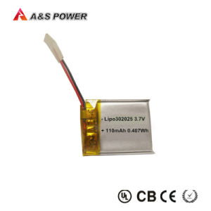 401230 3.7V 120mAh 110mAh Lipo Battery Lithium Ion for Electric Products pictures & photos