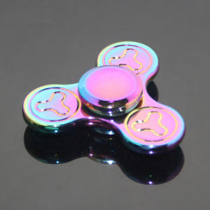 Pressure Relief EDC Toys Brass Fidget Spinner Metal Hand Spinner pictures & photos