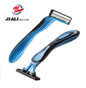 Good Quality Stainless Steel 3 Blade Disposable Razor pictures & photos