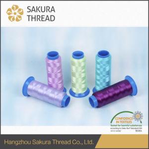 Sakura 120d/2 100% Flame Retardant Polyester Filament Thread for Embroidery pictures & photos