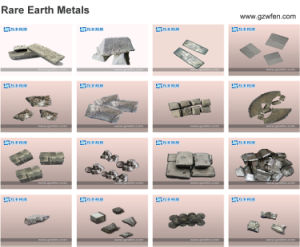 Rare Earth 99.9% Dysprosium Metal pictures & photos
