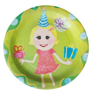 9inch Party Supplies Paper Plates pictures & photos