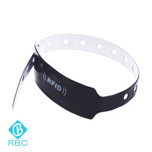RFID Tk4100 Disposable PVC Wristband Hospital Patient Identification