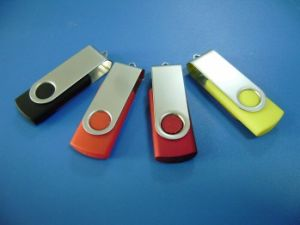 Wholesale Rotary USB Flash Drive Metal Mini Small Gift 128MB-128GB pictures & photos